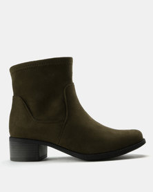 Utopia Basic Softee Boots Olive