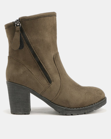 Utopia Pistol Boots Olive