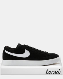 Livraison gratuite Footaction Nike Blazer Bas Salles De Bains En Noir Et Blanc D'époque jeu vraiment réelle prise ydX4g