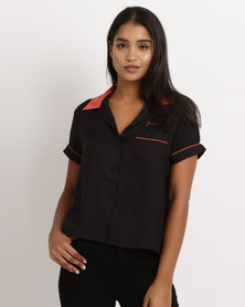 RVCA Strike Casual Shirt Black