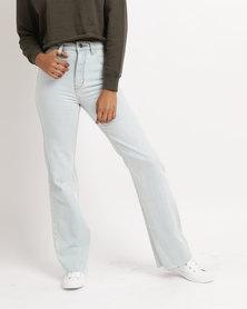 RVCA Boz Straight Leg Jeans Blue
