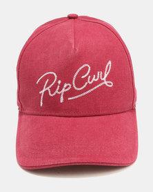 Rip Curl Paradise Snap Tab Cap Maroon