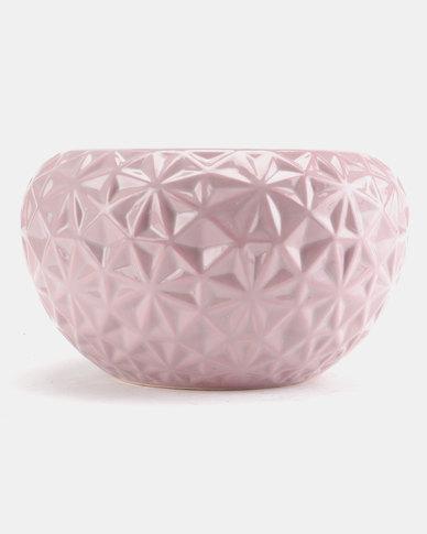 Pamper Hamper Ceramic Pot Plant Pink
