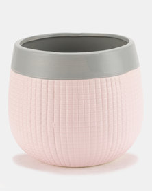 Pamper Hamper Ceramic Pot Plant Pink