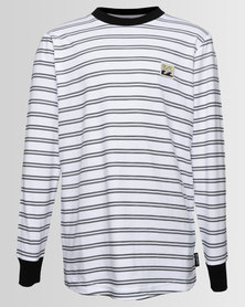 Billabong Boys Issue Stripe Tee Black & White