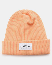 Rip Curl Teen Essentials Beanie Peach