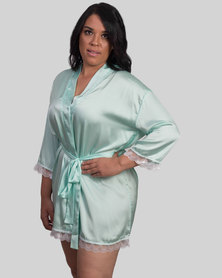 Jatine Bridesmaid Dressing Gown Mint