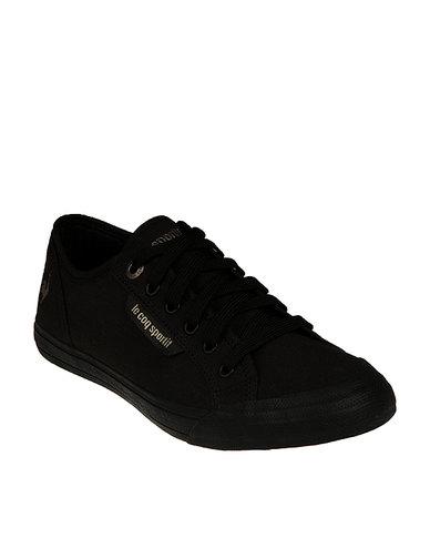 2b744ff63744 Le Coq Sportif Deauville Plus Casual Sneakers Black