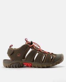 Hi-Tec Womens Strand Sandals Taupe