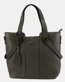 Miss Black Hand Bag Charcoal