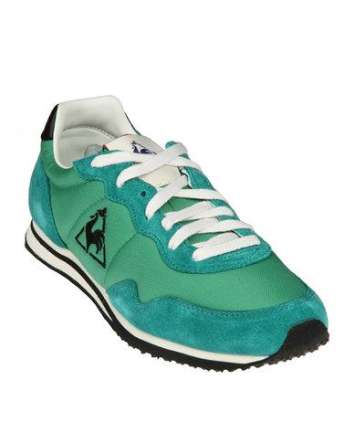 d2a8bce8bda5 ... Le Coq Sportif Milos Running Shoes Green ...