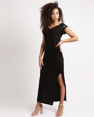 1b0171f3e0 Brava Vice Verca Maxi Dress Sequin Black