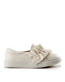 Rock & Co Gibby Slip Ons White