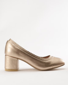 Rock & Co Pippa Heel Gold