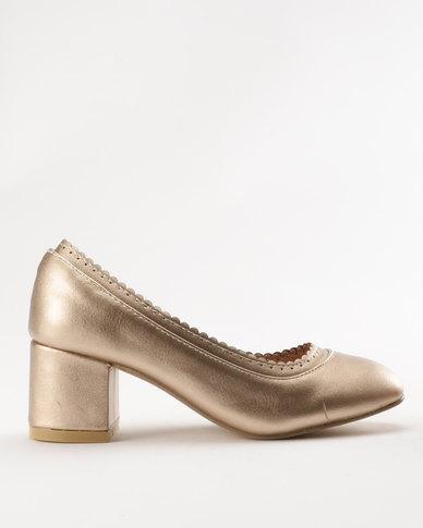 Rock & Co Pippa Heel Gold