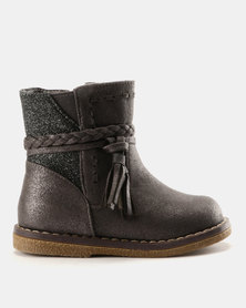 Rock & Co Elora Ankle Boots Grey