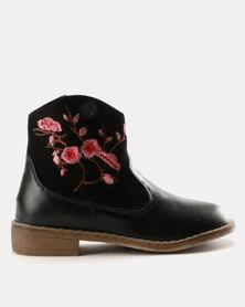 Rock & Co Tahiya Ankle Boot Black