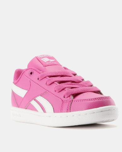 8da71edf9445 Reebok Girls Court Royal Prime Sneakers Pink