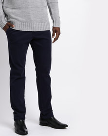 Utopia Cotton Chinos Navy