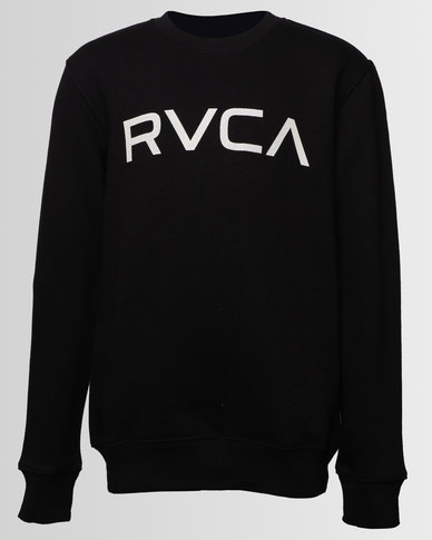 Rvca Sweater Zando Big Crew Boys Black Neck BqAWr8BPw
