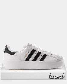 adidas Superstar Bold W Futura Sneakers White & Black