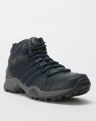 Urbanart Kwesta Bolt 1 Lace Up Sneakers Navy