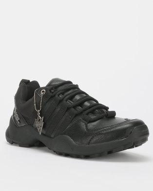 Urbanart Kwesta Bolt 2 Lace Up Sneakers Black