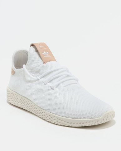 09819f401 adidas Pharrell Williams Tennis HU Shoes White