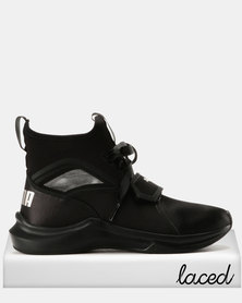 Puma Phenom Satin EP Womens Sneakers Black