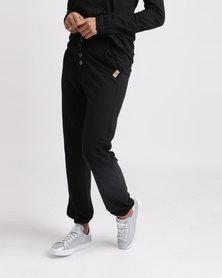 Roxy Tropic Call Solid Pants Black