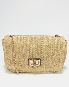 G Couture Women Glass Bag Natural