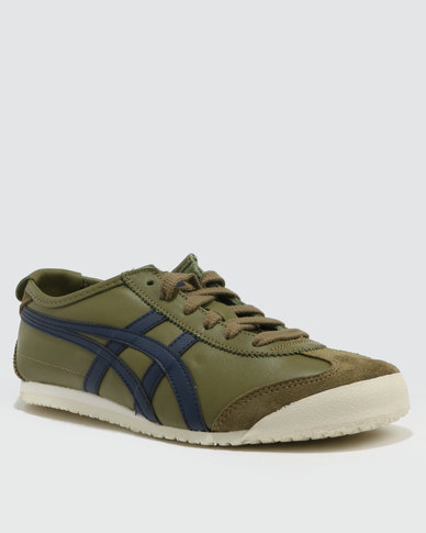 Onitsuka Tiger Mexico 66 Martini Olive Peacock  d01ce475f028