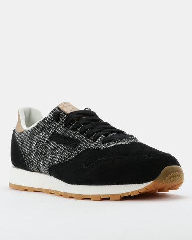 a4e67bc1e0d Reebok Classic Leather EBK Black Grey