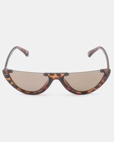 UNKNOWN EYEWEAR Nova Tortoise Sunglasses Brown