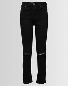 Soviet Boys Stanley Skinny Jeans Black