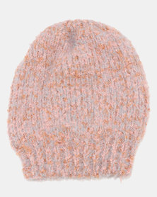 Joy Collectables Speckled Beanie Pink