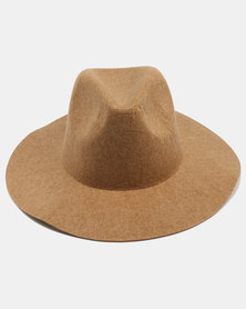 Joy Collectables Felt Panama Hat Taupe