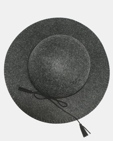 Joy Collectables Round Brim Felt Hat Black