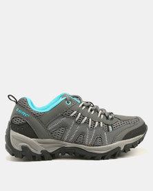 Hi-Tec Jaguar Women's Hiking Shoes Grey/Blue