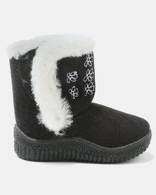 Bratz Girls Winter Ugg Boots Black