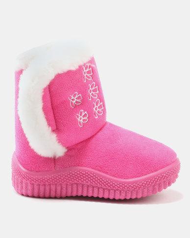 fa864b8b49db8 Bratz Girls Winter Ugg Boots Pink
