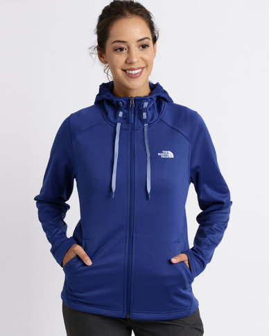 822e25e7e The North Face Tech Mezzaluna Hoodie Sweatshirt Blue