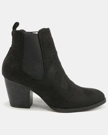 Utopia Chelsea Pistol Boot Black