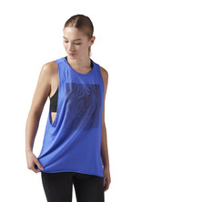 Muscle Tank - Moire Graphic