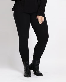Utopia Plus Basic Leggings  Black