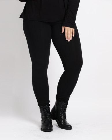 Utopia Plus Basic Leggings  Black