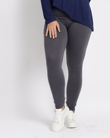 Utopia Plus Basic Leggings Charcoal