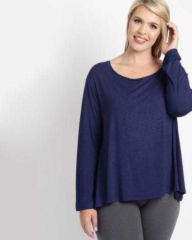 Utopia Plus Relaxed Fit Tee Navy