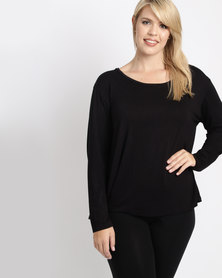 Utopia Plus Relaxed Fit Tee Black