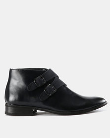 Zah Leonardo Formal Boots Navy